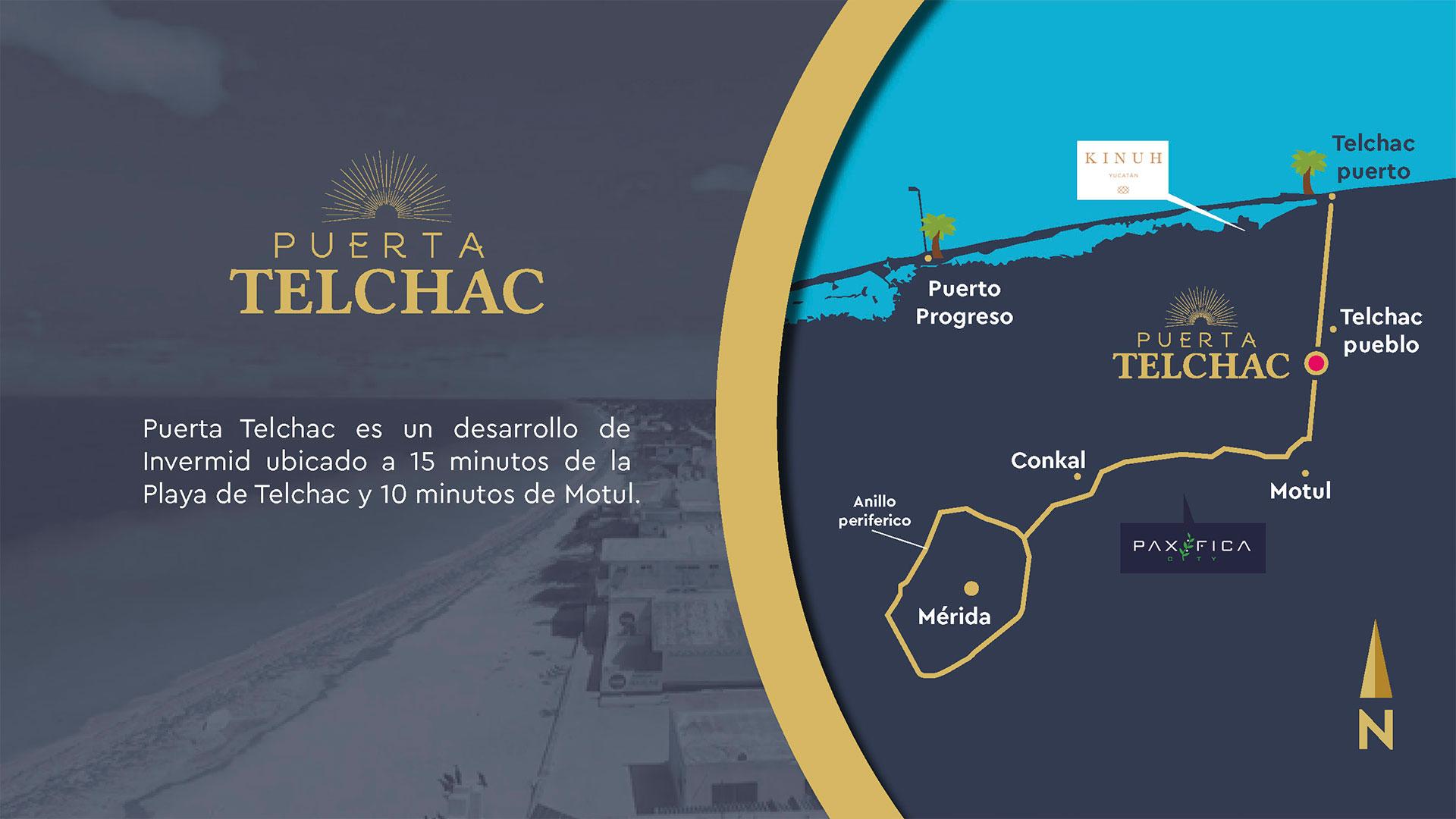 Puerta Telchac - Terrenos de inversión
